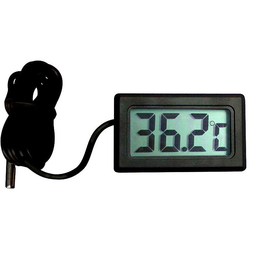 ASDOMO 5 Pack Digital Thermometer, LCD Car Fridge Incubator Fish Tank Meter Gauge Temperature