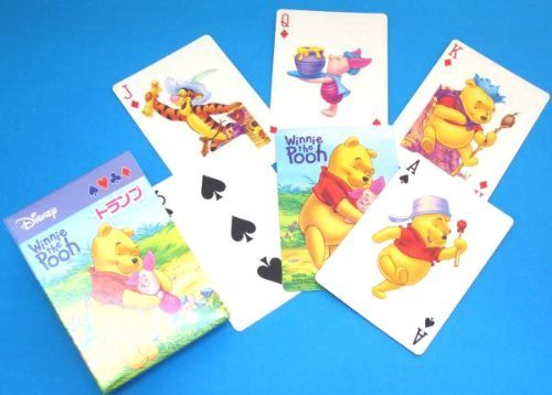 Playing cards poker size Winnie the Pooh (japan import)