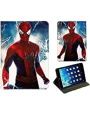 För Apple iPad Pro 10.5/10.2/Air 3 Spider-Man Avengers Hulk Iron Man Marvel Spider-man Smart Stand Fodral Skal