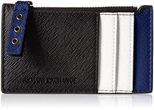 A X Armani Exchange Saffiano Card Holder Credit Card - Card Exchange Credit Armani
