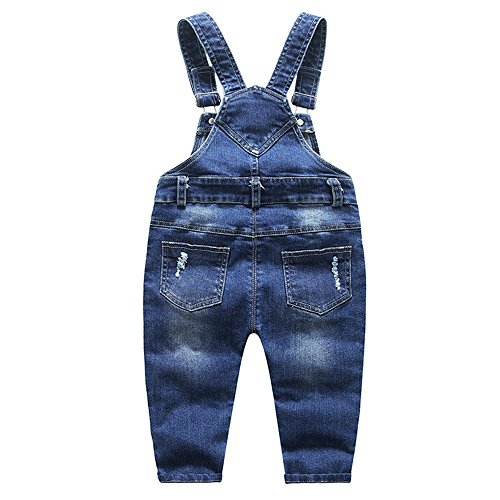 Ding Dong Baby Toddler Boy Girl Denim Overalls(Style 1,5T) by Ding Dong (Image #2)