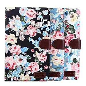 LIMME Calico Pattern Full Body Leather Case with Card Slot for Samsung Tab Pro 8.4 T320(Assorted Colors) , Blue