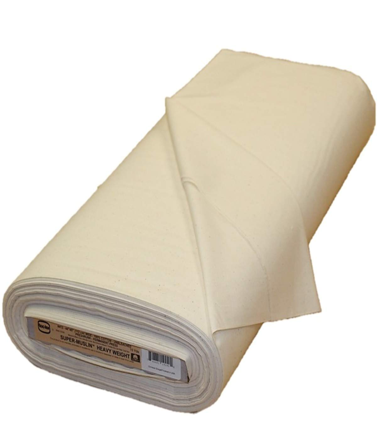 Rockland 92 by 76 Count Muslin, 44/45-Inch, Unbleached/Natural by Rockland (Image #1)