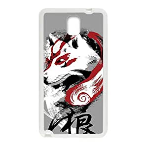 Design by humans wolf Phone Case for Samsung Galaxy Note3 Case