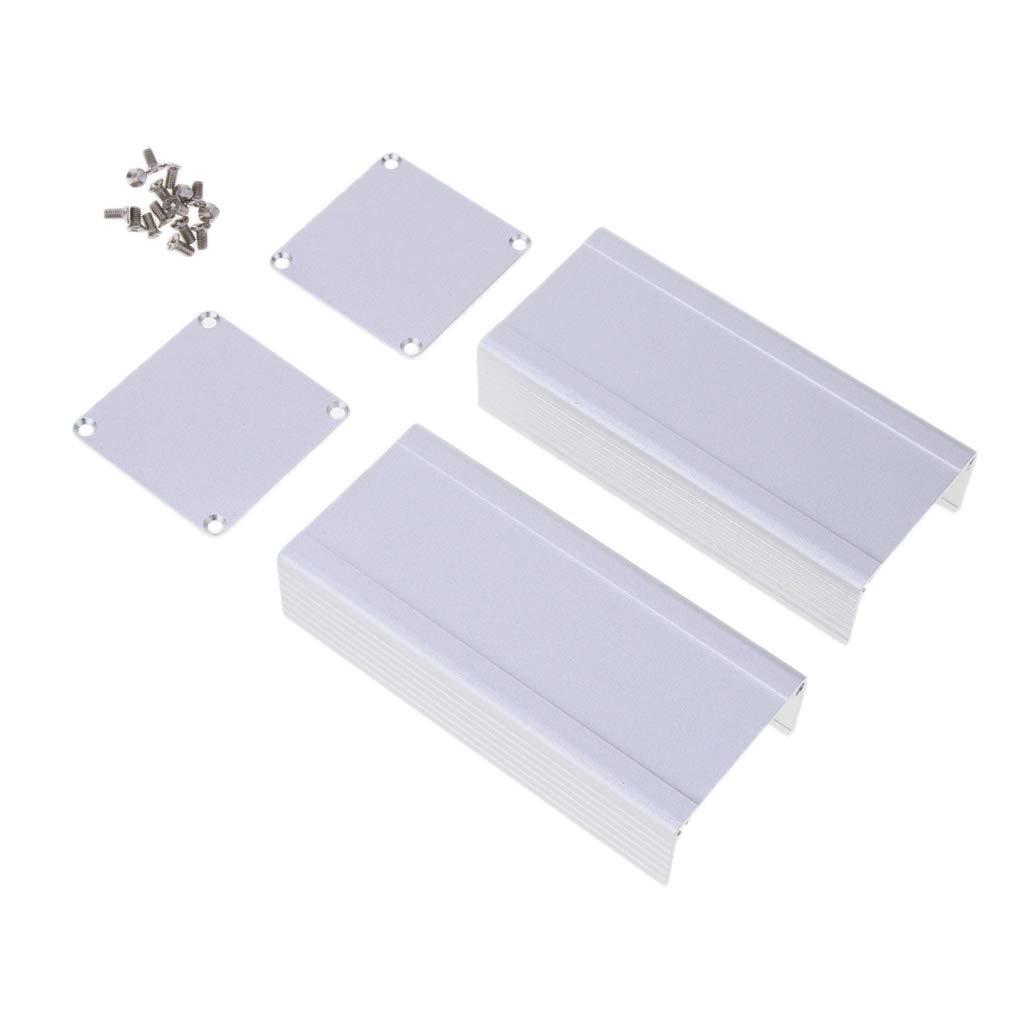 46 x 46 x 100 mm SM SunniMix Aluminiumlegierung Box Dose Geh/äuse Kasten f/ür Elektrische Projekte Anschl/üssen ca