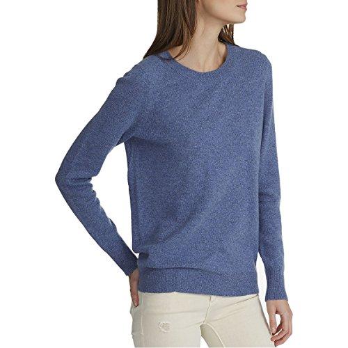 White + Warren Essential Crewneck Sweater - Women's Indigo Heather, S by White + Warren (Image #2)