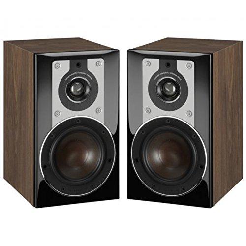 Price comparison product image Dali Opticon 1 2-Way Compact Bookshelf Speakers (Pair,  Light Walnut)