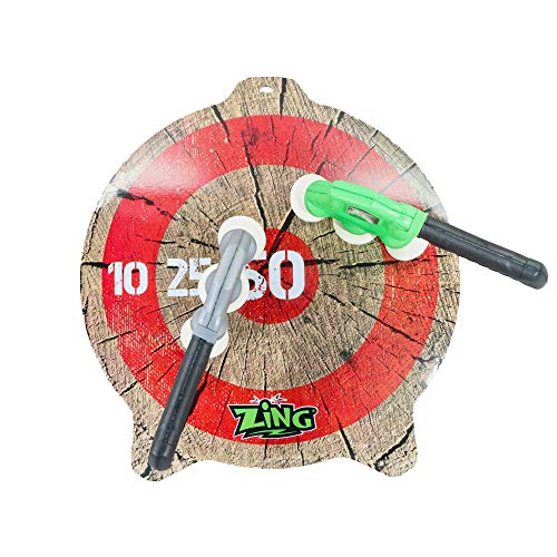 Zing Zax Mega Target Pack;Toy Foam Throwing Axe; Great for Indoor/Outdoor Target Game with Friends and Family, Also a…