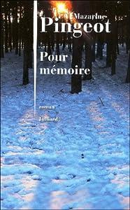 """Afficher """"Pour mémoire"""""""