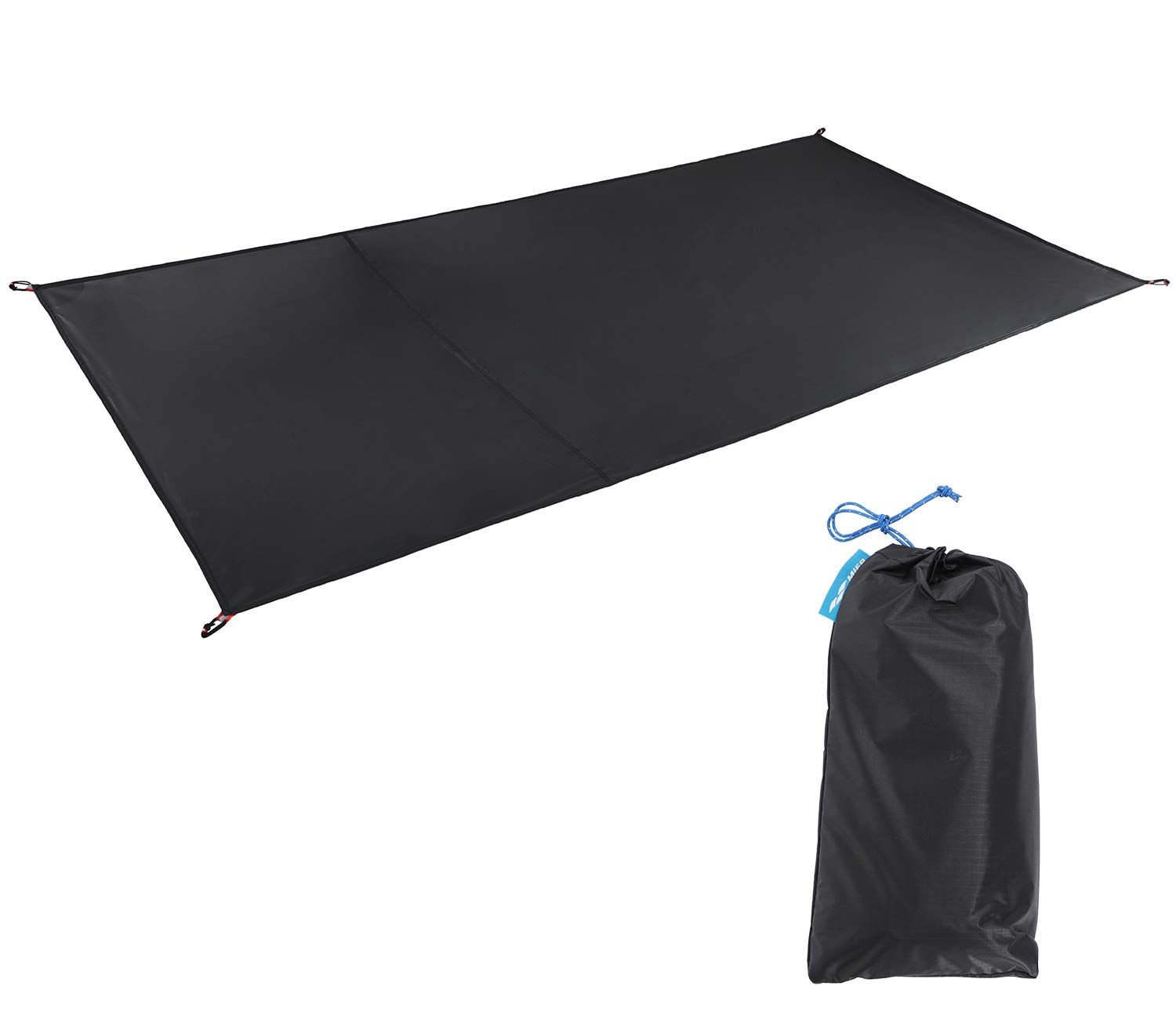 MIER 1-2 Person Ultralight Waterproof Footprint Outdoor Camping Tent Tarp Canopy Blanket Picnic Ground Sheet Mat, Ultralight Tent Fitted, 2 Person by MIER
