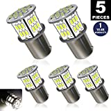 Automotive : New generation 12-24v !Super Bright Low Power !5 x 650 Lumens 1156 1141 1003 3014 54smd Led Light bulb Use for Back Up Reverse Lights,Brake Lights,Tail Lights,Rv lights White