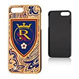 Keyscaper MLS Real Salt Lake Paisley Case for iPhone 8 Plus/7 Plus, Wood