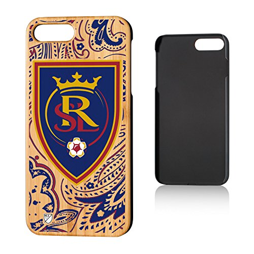 Keyscaper MLS Real Salt Lake Paisley Case for iPhone 8 Plus/7 Plus, Wood by Keyscaper