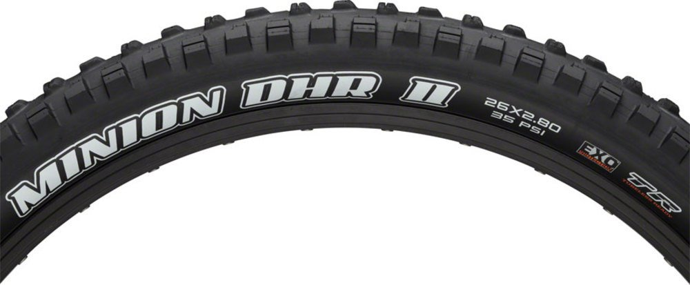 Maxxis Minion DHR II 26 x 2.8タイヤ60tpi Dual Compound EXO Casing Tubeless B0756N1K8S