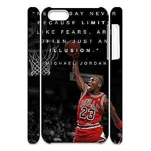 Michael Jordan DIY 3D Cover Case for Iphone 5C,personalized phone case ygtg-689052