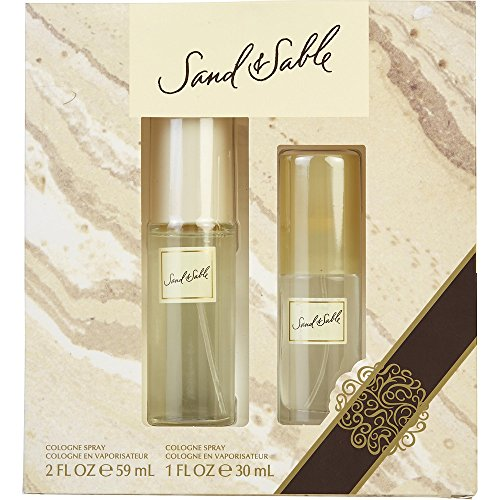 SAND & SABLE by Coty COLOGNE SPRAY 2 OZ & COLOGNE SPRAY 1...