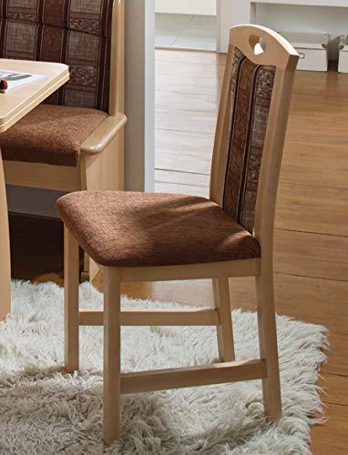 Amazon.com: Riedburg - Banco de tapicería para desayuno ...