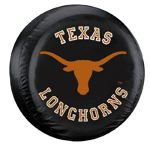 (Fremont Die NCAA Texas Longhorns Tire Cover, Standard Size (27-29