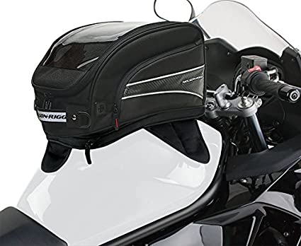 Nelson-Rigg CL-2016-MG Black X-Large Magnetic Mount Journey Tank Bag