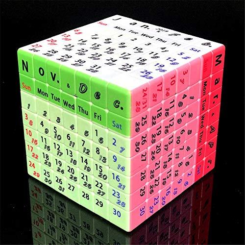 TTXST Seventh-Order Speed Cube Intelligence Development UV Custom Printing 2019 Timetable Calendar 7x7x7 Seventh-orde Cube (Best 4x4 Rubik's Cube 2019)