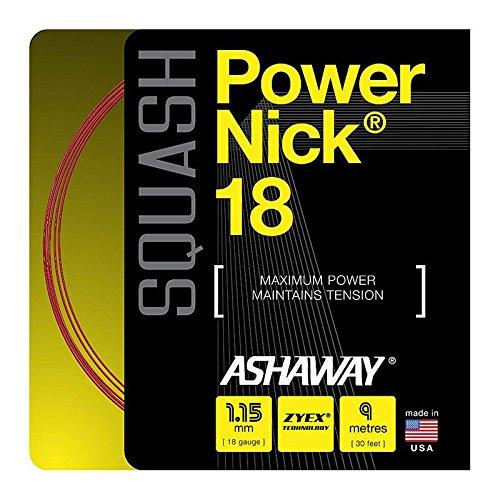 Ashaway PowerNick 18 Squash Strings Set