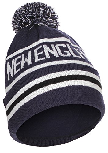 US Cities New England Region Champions Cuff Beanie Knit Pom Pom Hat Cap