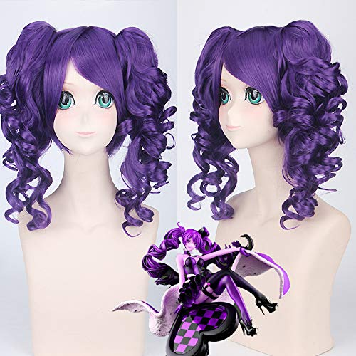 COSPLAYZ  Cos Alice in the Country of Hearts    Red Heart Queen Hair Anime Wig
