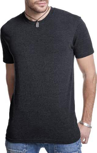 Next Level mens Tri-Blend Crew Tee (6010)