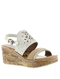 OTBT Women's Hippie Wedge Sandal