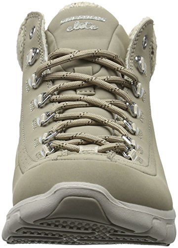 Synergy Stn Sportives Baskets Skechers Femme Beige SKEES Winter Nights Tnx1F6