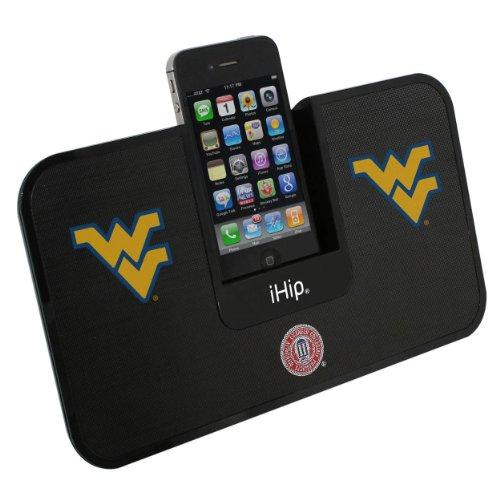Zeikos iHip Portable Premium Idock With Remote Control - West Virginia Mountaineers