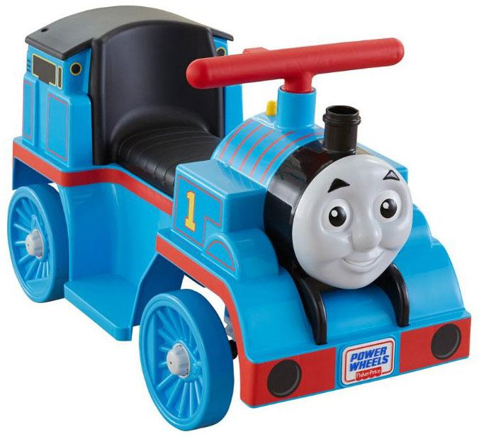 fisher price power wheels thomas the train with track kids toddler toy ride on ebay. Black Bedroom Furniture Sets. Home Design Ideas