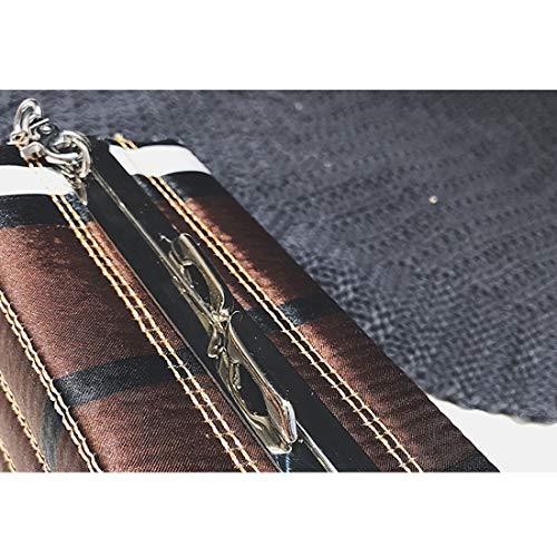 Hombro Bolsos Red Bag Mini Baachang Pu Pequeño De color Para Box Cuero Brown Crossbody Paquete Mujer xqp4Yq