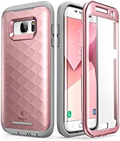 Galaxy S7 Edge Case, Clayco [Hera Series] Full-body Rugged Case with
