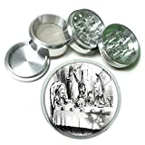 grinder alice - Alice In Wonderland Mad Tea 4Pc Aluminum Grinder D-032