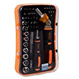 Drive Socket Set,Sourcingbay JM-6102 43 in 1 Professional Hardware Screwdrivers all-in-one Tool Kits