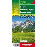 Carte de randonnée : Gesäuse Ennstaler Alpen Schoberpaß, N° 62