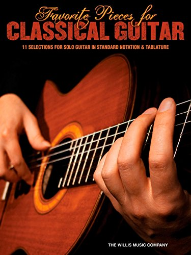- Hal Leonard Favorite Pieces For Classical Guitar Solo Guitar with Tab