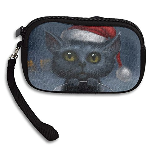 Animal Deluxe Purse Bag Christmas Portable Cat Printing Small Receiving Cute rqrtT7
