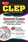 img - for CLEP General Exams w/ CD-ROM (CLEP Test Preparation) by Alvarez M.A. Joseph A. Barrett M.A. Marguerite Beard Ph.D. Pauline Carpignano Jennifer Vezza M.S. Margaret CLEP (2004-05-25) Paperback book / textbook / text book