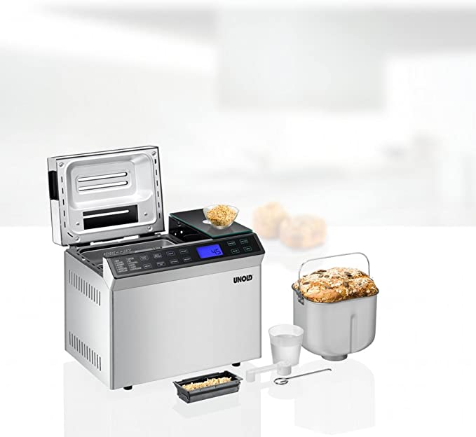 Amazon.com: 68615 Backmeister brotbackmaschine Skala – 615 W ...