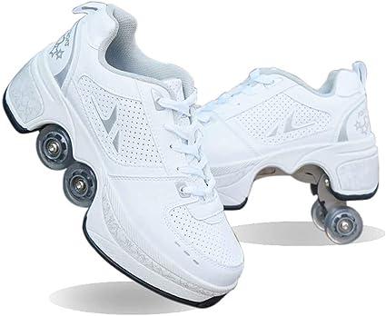 Roller Skates Kick Roller Shoes