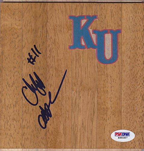 Custom Floorboard - Cliff Alexander Signed Kansas Jayhawks Custom Floorboard w - PSA/DNA Certified - Autographed College Floorboards