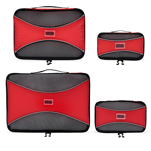 PRO Packing Cubes Lightweight Travel - Packing for Carry-on Luggage, Suitcase and...