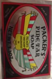 SPECIAL PACK OF 5 PACKERS PINE TAR SOAP 3.3OZ
