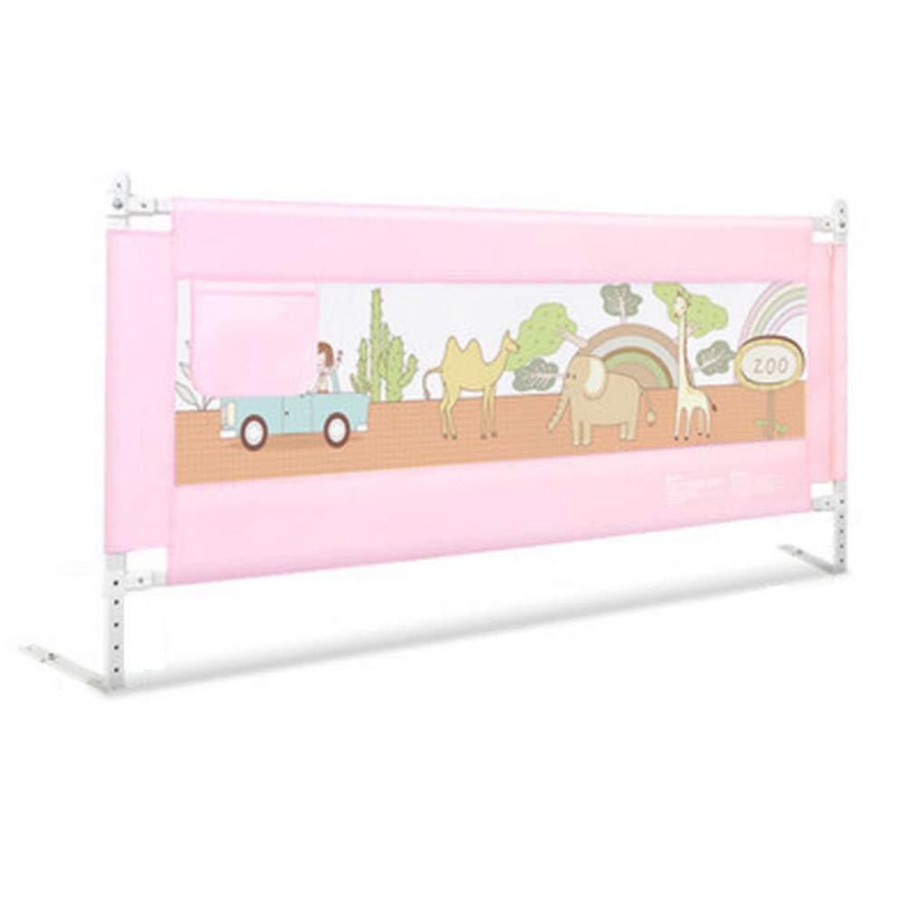 NAN liang ポータブルベッドレール - 垂直リフティングレール子供のピンクドロップ - プルーフベッド5高さ調整フェンス (サイズ さいず : 150cm) 150cm  B07KCCD723