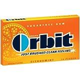 Orbit Citrusmint Sugarfree Gum, 14-Piece Packs (Pack of 24)