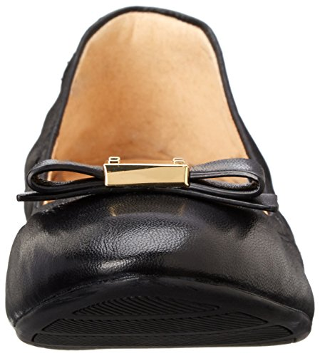 Leather Cole arco Black Tali Haan del plana Ballet S0wxUdqX0