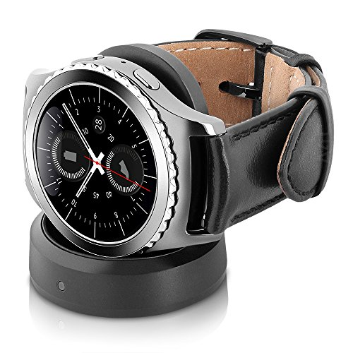 Samsung Gear S2 Classic Smartwatch 4G T-Mobile SM-R735T with Small Leather Band (Certified Refurbished)