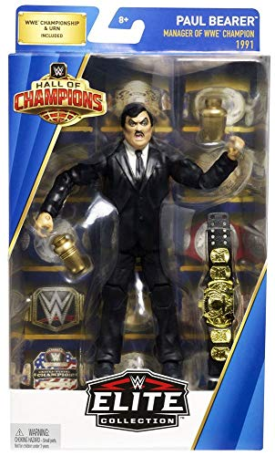 WWE Hall of Champions Elite 1991 Paul Bearer 6 inch Exclusive Action Figure (Wwe 1991)